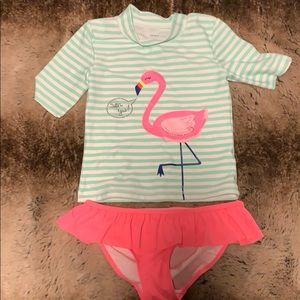 Carters girls bathing suit